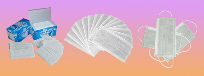 Khẩu trang Mini-Pro 4 lớp kháng khuẩn màu trắng