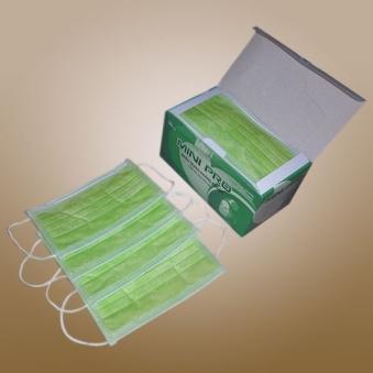 Khẩu trang kháng khuẩn 4 lớp màu xanh lá